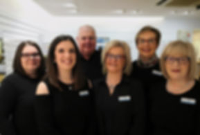 Davind Henderson Opticians team in Ballyclare