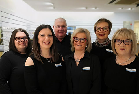 David Henderson Opticians team in Ballyclare