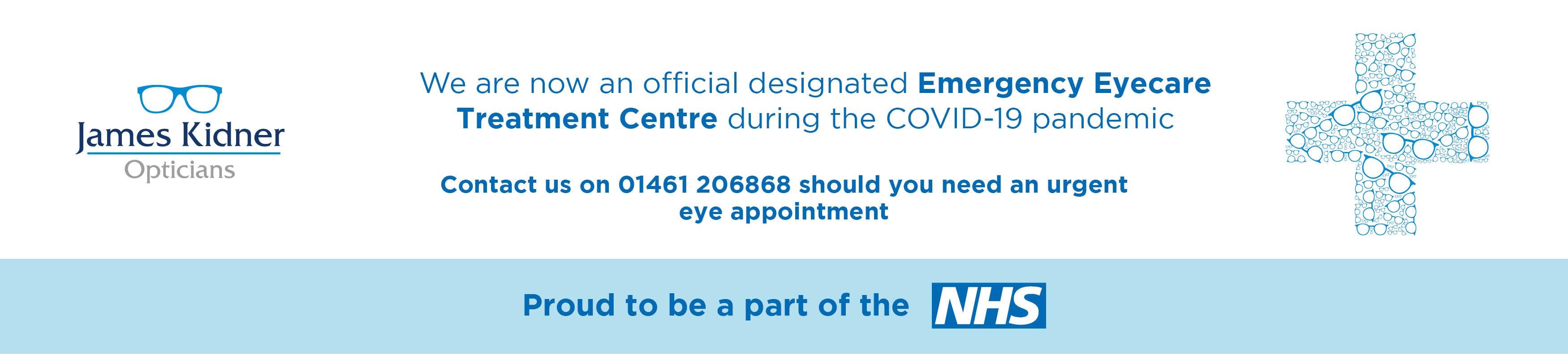 Emergency Eye Care Banner