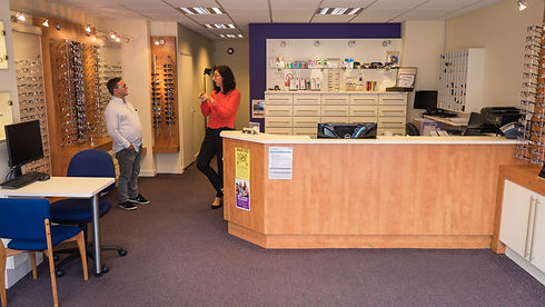 Inside Our Practice - Richard Haynes Opticians