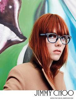Women wearing Jimmy Choo Glasses
