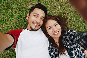 couple with ortho k lenses