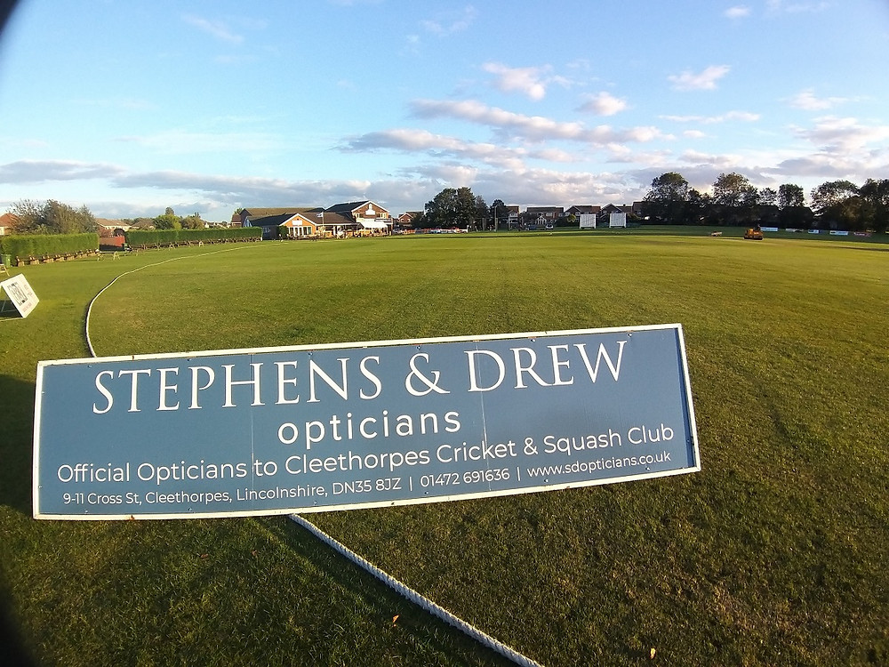 Stephen & Drew official sponsor of Cleethorpes Cricket Club