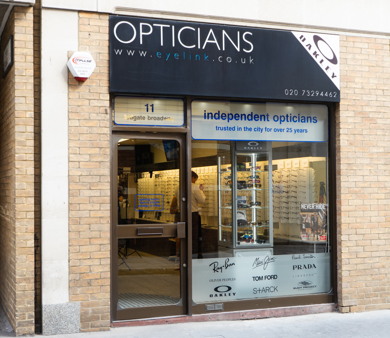 Eyelink Opticians London