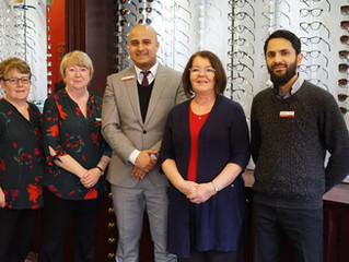 Blackburn Optometrist becomes the first Optician in the area to receive prestigious qualification