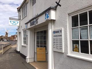 Enderbys - Customer Entrance