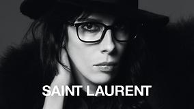 Women wearing saint laurent