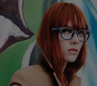 Women wearing glasses
