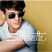 Attractive Young Man Wearing Silhouette Glasses