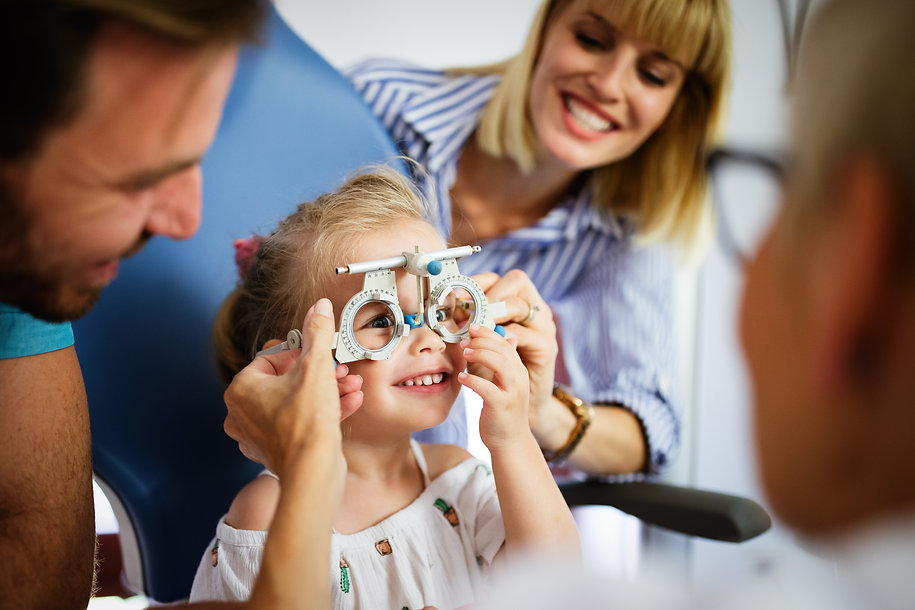 Childrens eye tests at Harris Opticians