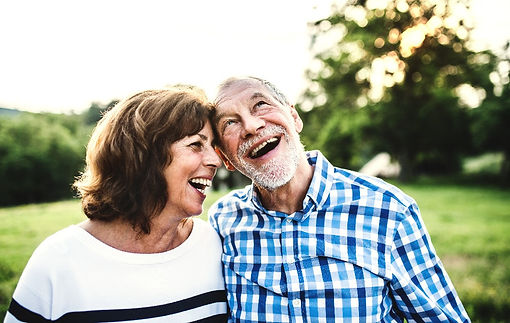 a-laughing-senior-couple-in-love-outdoor
