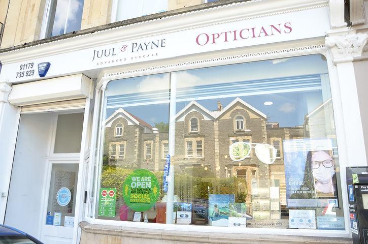 Juul & Payne Opticians Exterior
