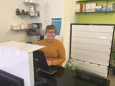 Sarah Dineen Opticians reception