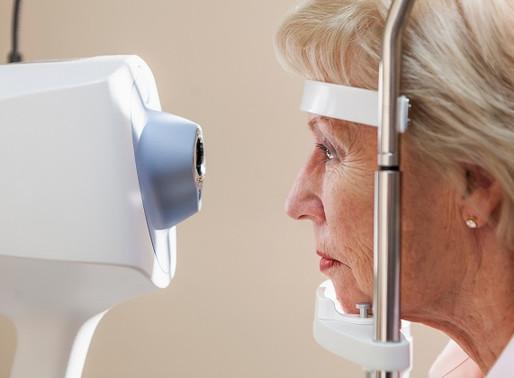 How do opticians test for glaucoma?