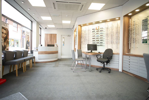 Makerfield Eye Centre Waiting Area