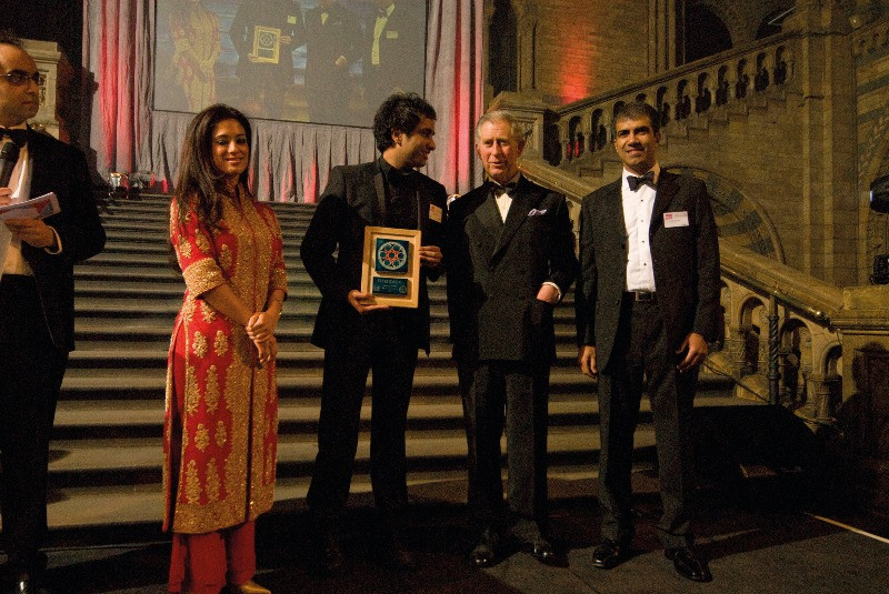 Imran and Prince Charles