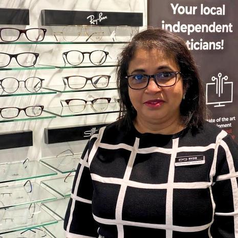 Farzeen at Ryde Opticians