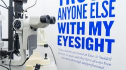 eye test banner