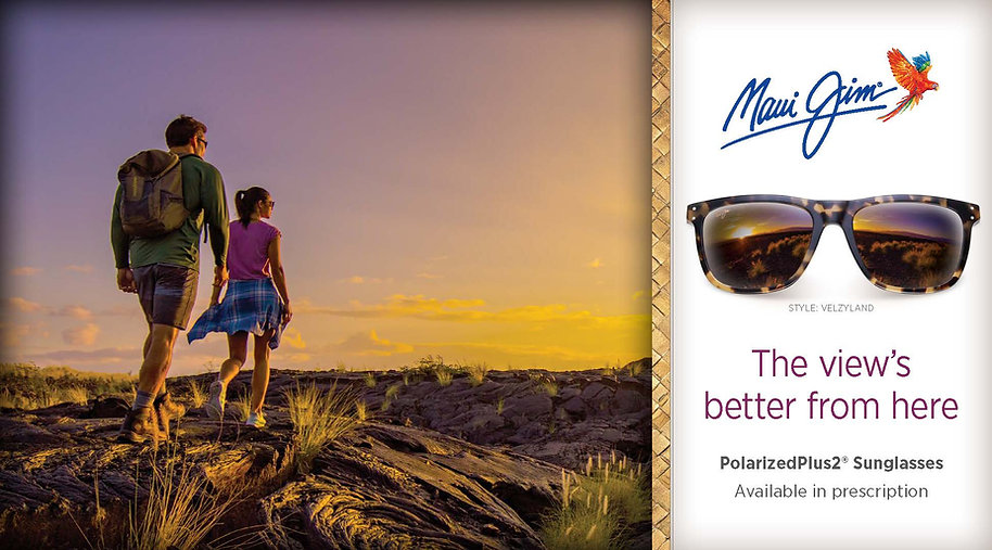 Maui Jim Sunglasses web banner