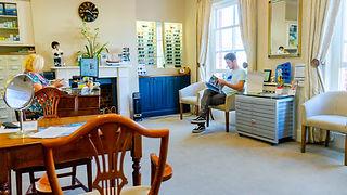 inside Burnham-on-Crouch optician