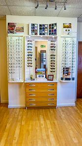 K France Opticians - Glasses Display