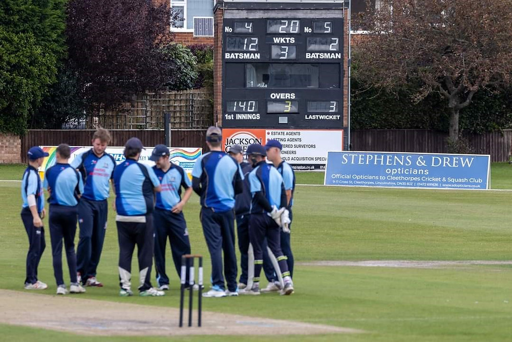 Stephens & Drew Optician sponsor Cleethorpes Cricket Club