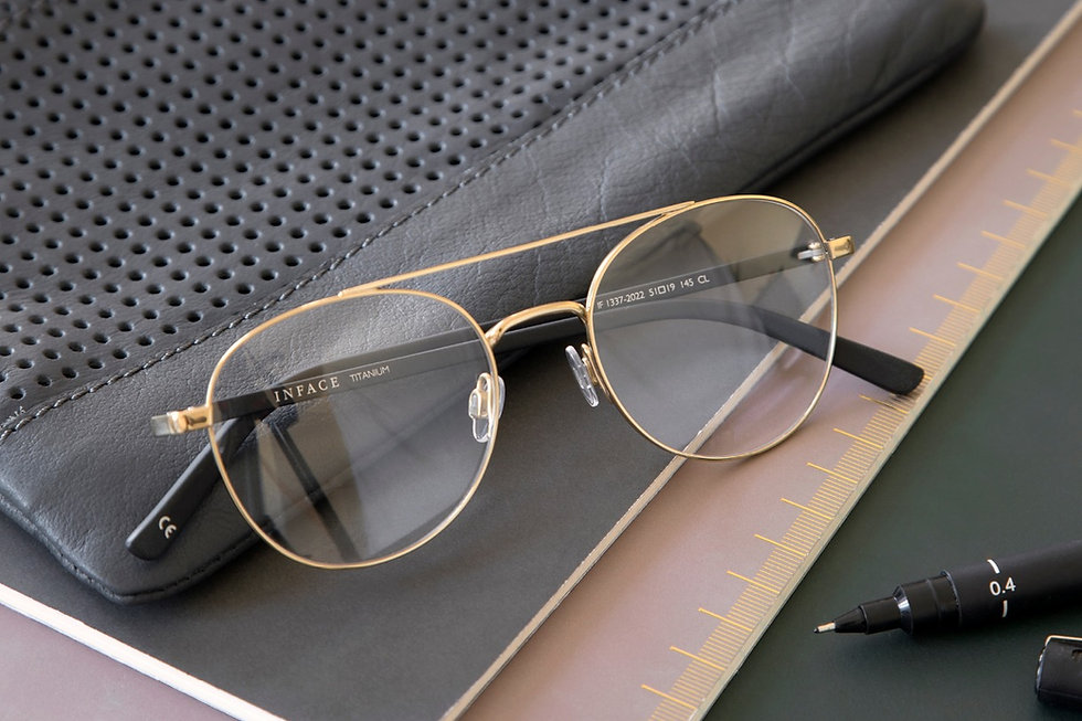 Inface glasses frame