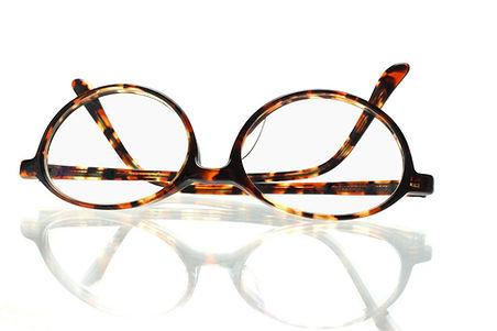 Brown glasses frame