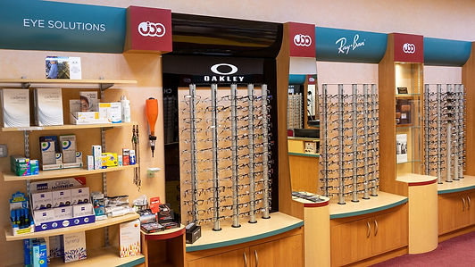 Chelmsford Opticians practice interior.