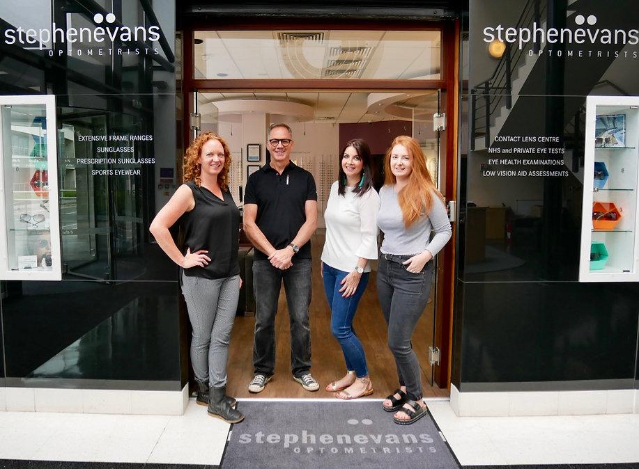 Stephen Evans Opticians Family Run