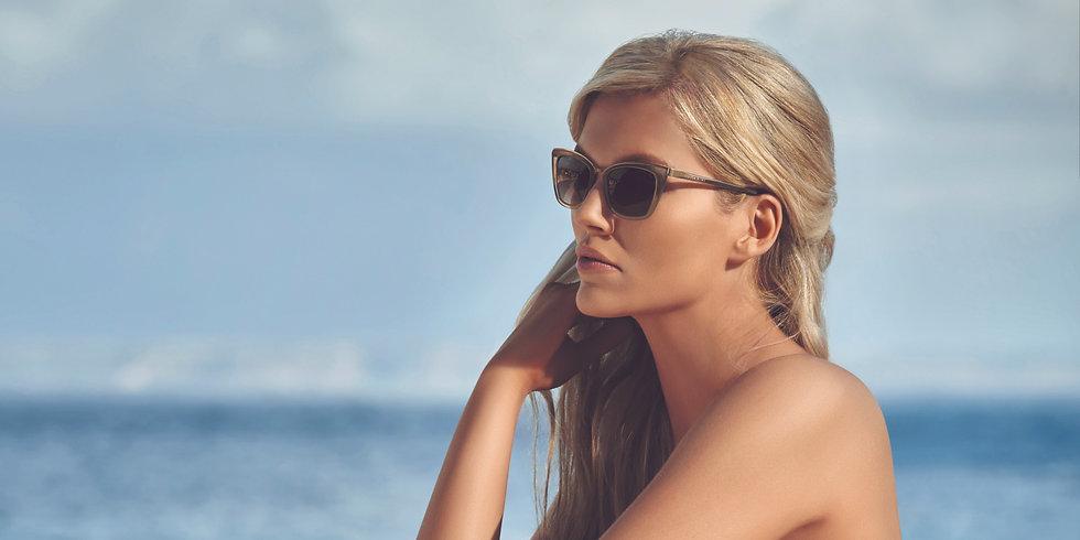Cocoa Mint Designer Sunglasses