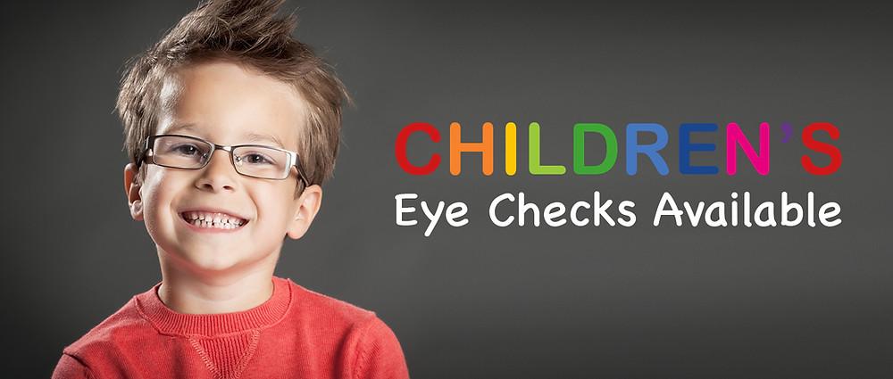 Eye Checks for childrens