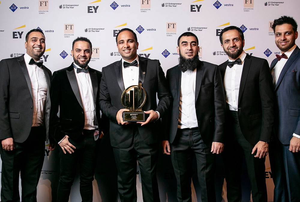 Entrepreneur of the Year UK Final 2019 Hakim Group