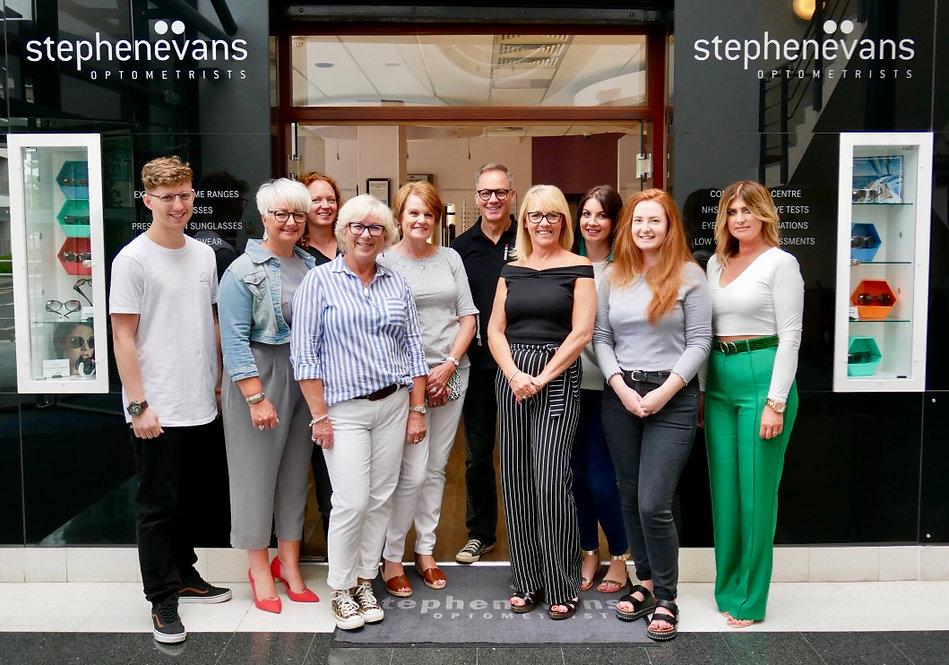 Stephen Evans Opticians Eye Care Team