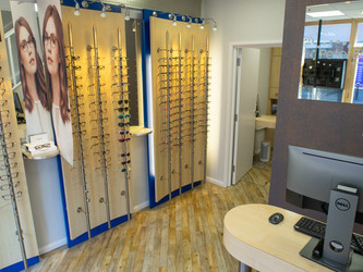 Stone high street opticians invests £50,000 in improved disabled accessibility