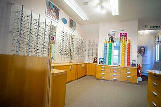 Inside Staples Opticians Practice