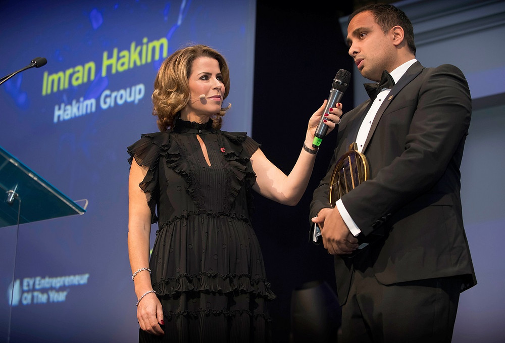 Entrepreneur of the Year 2019 Imran Hakim Scale Up Award