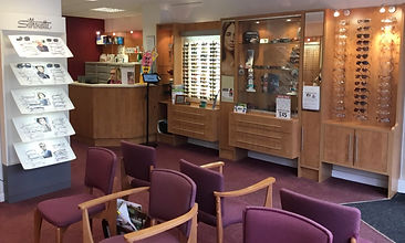 inside Great Sutton opticians