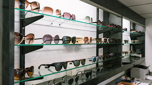 Eyelink Opticians Glasses Display