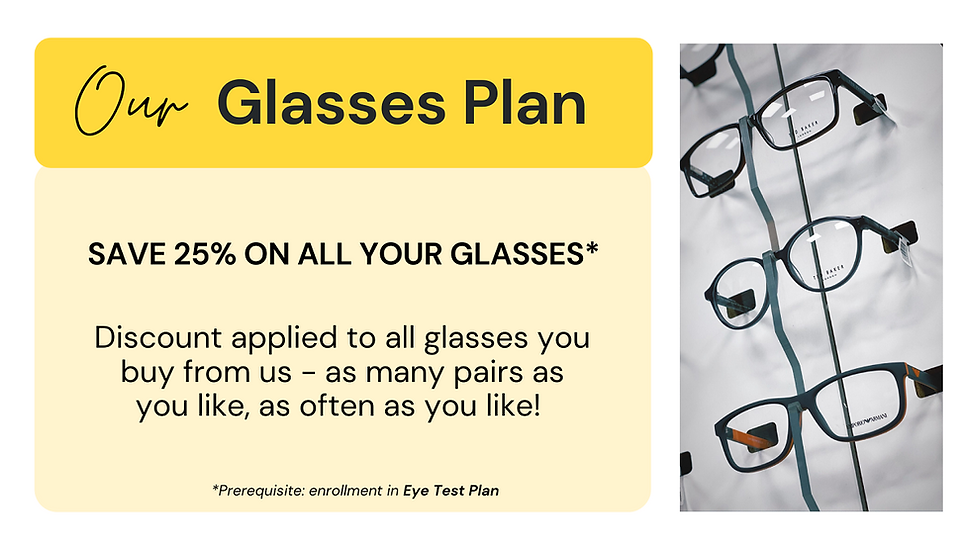 Oakwood Eyecare eyewear plan