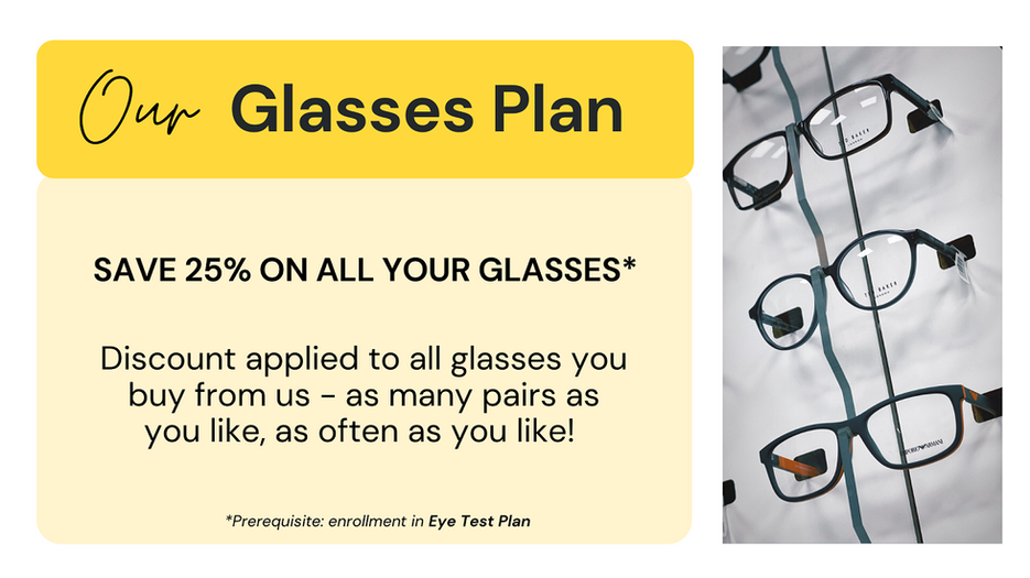 Oakwood Eyecare glasses plan