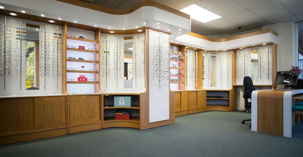Evington Eye care interior