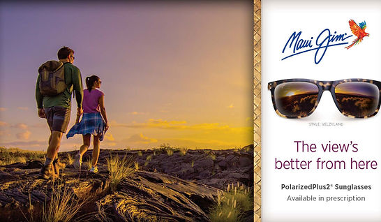 Maui Jim sunglasses at Holland Opticians