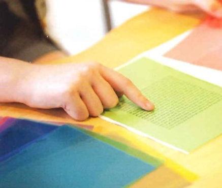 Coloured overlay assessment