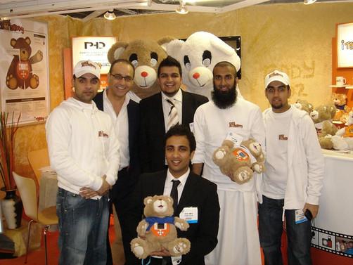 iTeddy at the London Toy Fair 2007