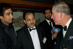 Imran Hakim and Prince Charles