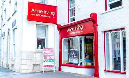 Anne Irving Shop Front