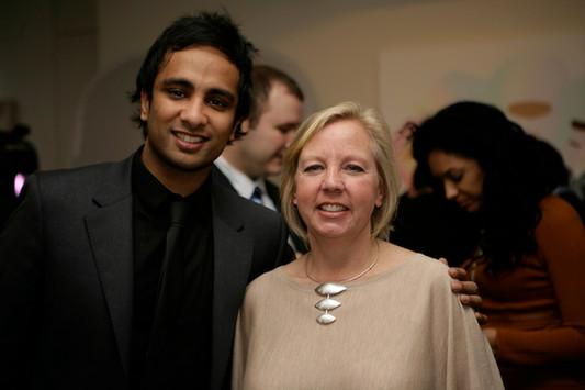 Deborah Meaden and Imran Hakim