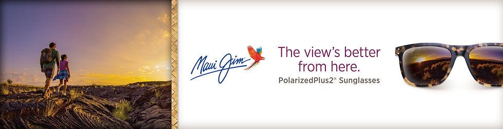 Maui Jim Website Banner
