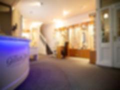 Interior of Gillian Sheard Opticians